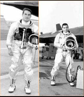 Captain Dennis K. Bush and Reconnaissance Systems Operator (RSO), Captain James W. Fagg