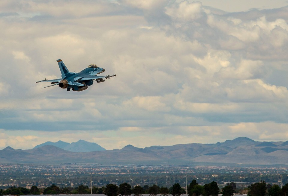Video Features First Flight of F-16 Ghost fighter jet