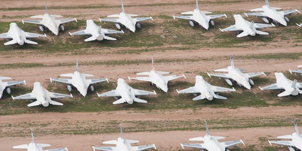 F-16s-AMARG- 309th-Aerospace-Maintenance-and-Regeneration-Group
