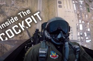 F-22 Demo Team Release Rare Cockpit Video Of Raptor performing precision aerial maneuvers