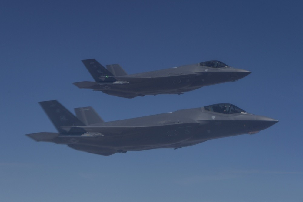 USAF Carry Out first time ever Airstrikes In Iraq with F-35A stealth fighter jet