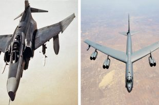 That Time an Air Force F-4G Wild Weasel Blew Apart A B-52 Bomber Tail In A Friendly Fire Incident
