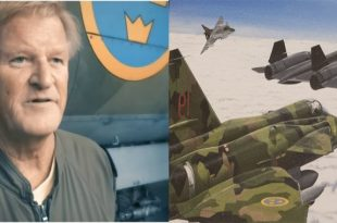 Former Saab 37 Viggen driver explains how Swedish Air Force pilots were able to achieve radar lock on SR-71 Blackbird
