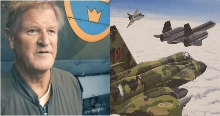 Former Saab 37 Viggen driver explains how Swedish Air Force pilots were able to achieve radar lock on SR-71 Blackbird