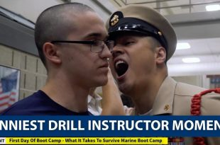 Here are Funniest Drill Instructor Moments Captured on Camera
