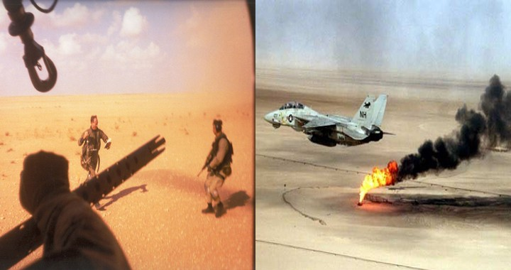 How A-10 & MH-53J performed Combat SAR sortie to recover F-14 Tomcat pilot behind the enemy lines