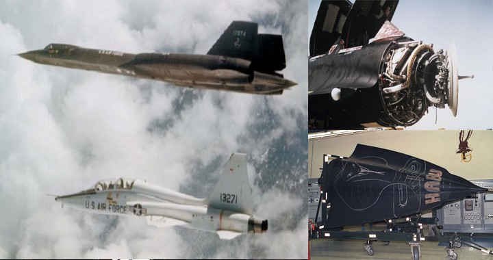 How a T-38 chase aircraft helped an SR-71 Blackbird whose nose section came off during flight