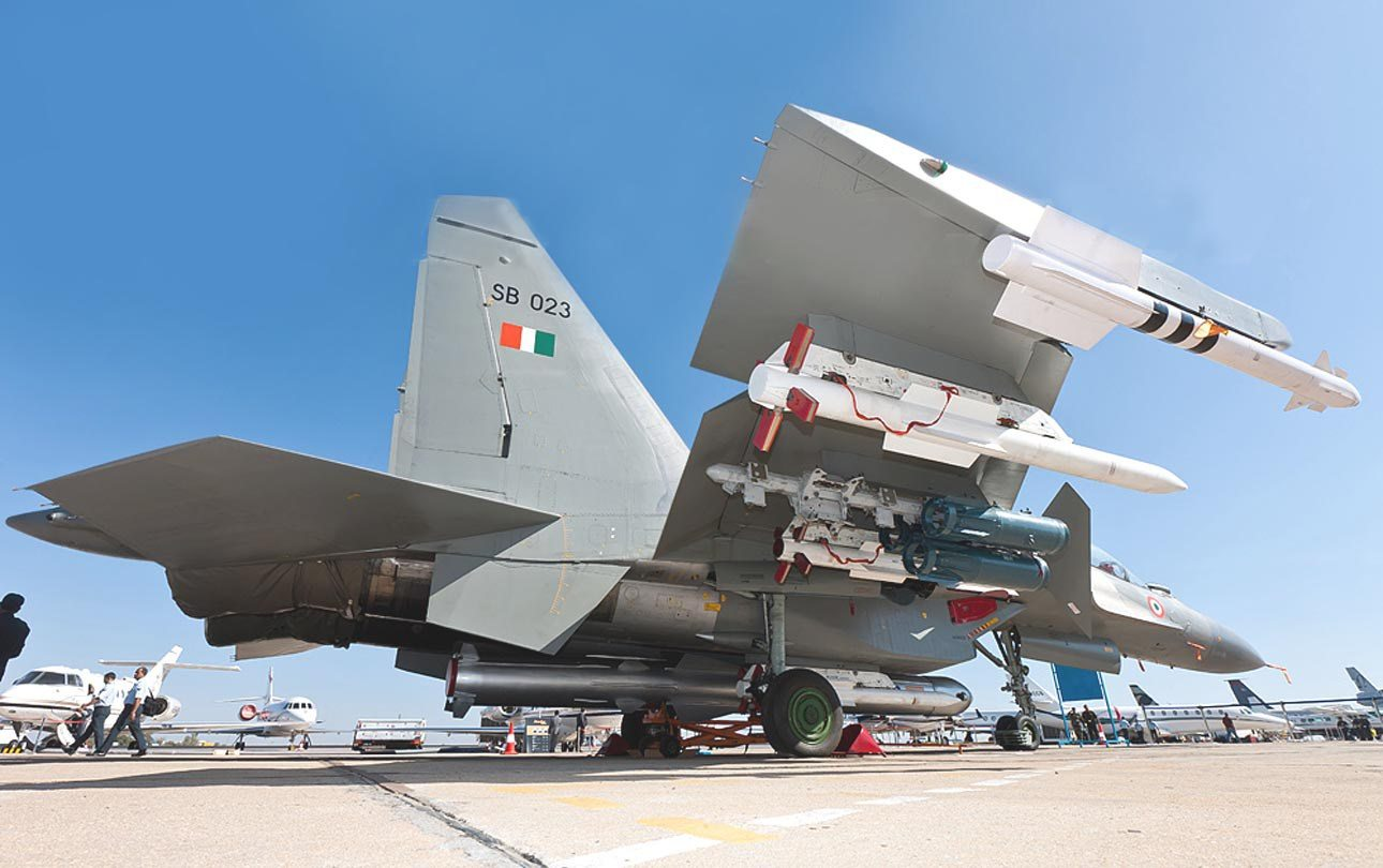 First Sukhoi Su-30MKI Fighter Jet Equipped With BrahMos Missiles Enter Service In IAF