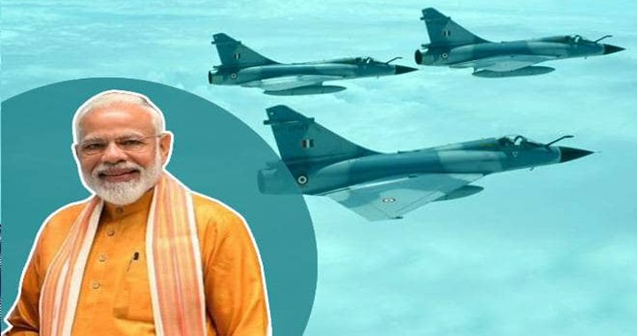India PM claims that clouds & rain prevented Pakistani radars from detecting IAF fighter jets during the Balakot air strike