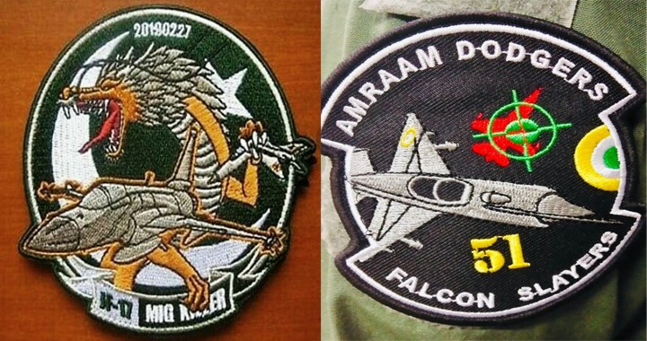India-Pakistan Patch-War: Here's All the uniform patches of PAF - IAF Airstrike made so far