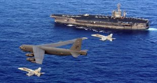 Iran threatens to attack Israel if U.S. launches strikes against Tehran using bombers & aircraft carrier