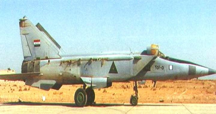 Iraqi Air Force MiG-25 Foxbat