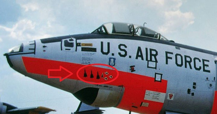 U.S. Air Force Aircraft that managed to score three YF-12 Blackbird kills