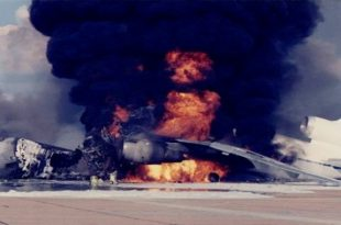 That Time a KC-10 Extender exploded during maintenance at Barksdale AFB