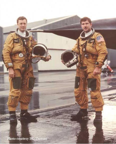 Lieutenant Colonel Bredette (BC) Thomas and Lieutenant Colonel Jay Reid