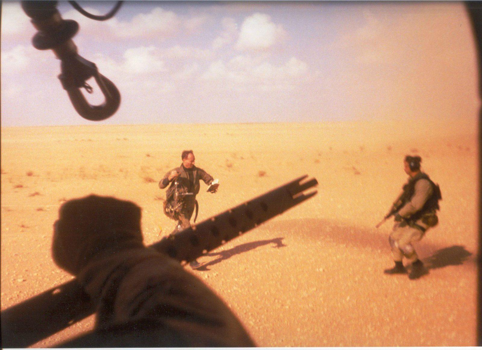 Lt. Devon Jones rescue in iraq