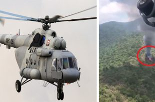 7 dead in Mexican Navy Mil Mi-17 helicopter crash near Queretaro