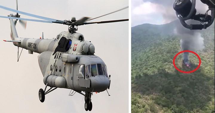 7 dead in Mexican Navy Mil Mi-17 helicopter crash near Queretaro