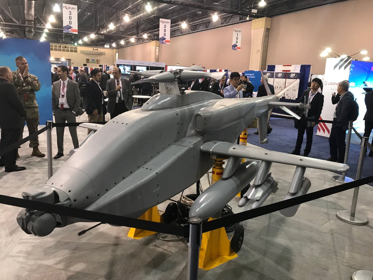 new high-speed version of Apache attack helicopter
