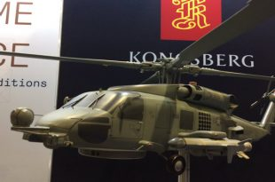 New lethal version of MH-60 Romeo helicopter armed with Naval Strike Missiles unveiled at Sea Air Space 2019