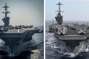 Nimitz Class Aircraft Carrier vs Gerald R Ford Class Aircraft Carrier