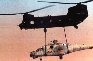 "Operation Mount Hope III: That time U.S. used MH-47D Chinooks helicopter to stole a Russian Mil Mi-25 ""Hind-D"" helicopter"