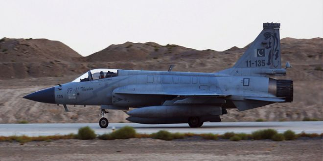 Pakistan Air Force received first overhauled JF-17 Thunder fighter jet from china