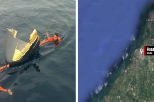 Philippine Air Force OV-10C Bronco plane crashed into sea during landing at Sangley Point NAS