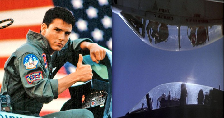 Pilots Used Real Jets To Recreate TOP GUN Famous Inverted flying Scene c