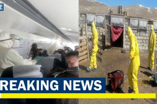 Plane passengers quarantined After Two Russia dead from Bubonic Plague