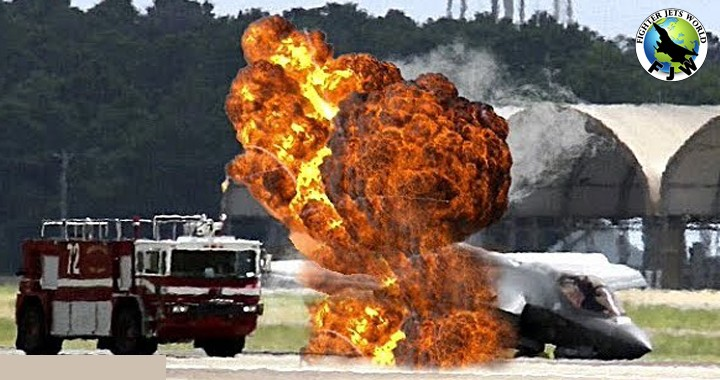 Probe finds Defective fuel tube caused F-35 Stealth Fighter jet Crash