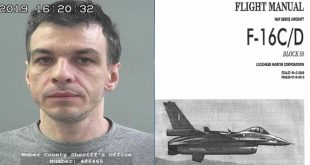 Russian Man Jailed In United States For Buying F-16 Fighter Jet Flight Manuals