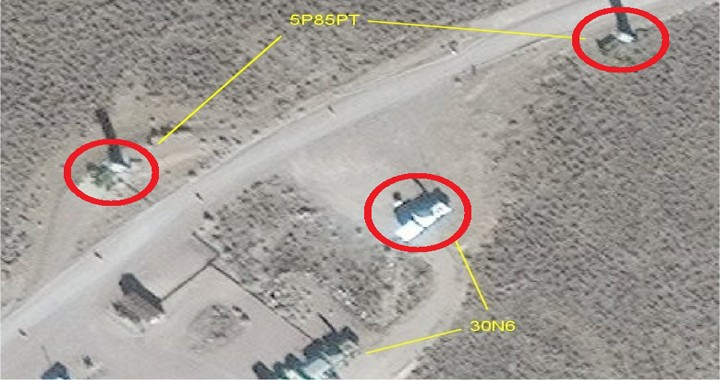 Russian S-300 surface-to-air missile system spotted in the United States