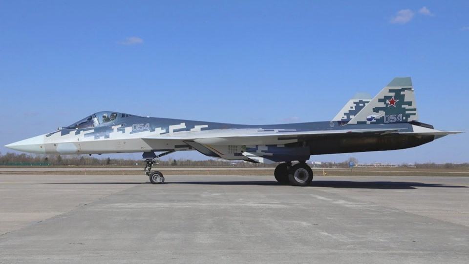 "Russian Su-57-Like ""Ghost"" colour Scheme"