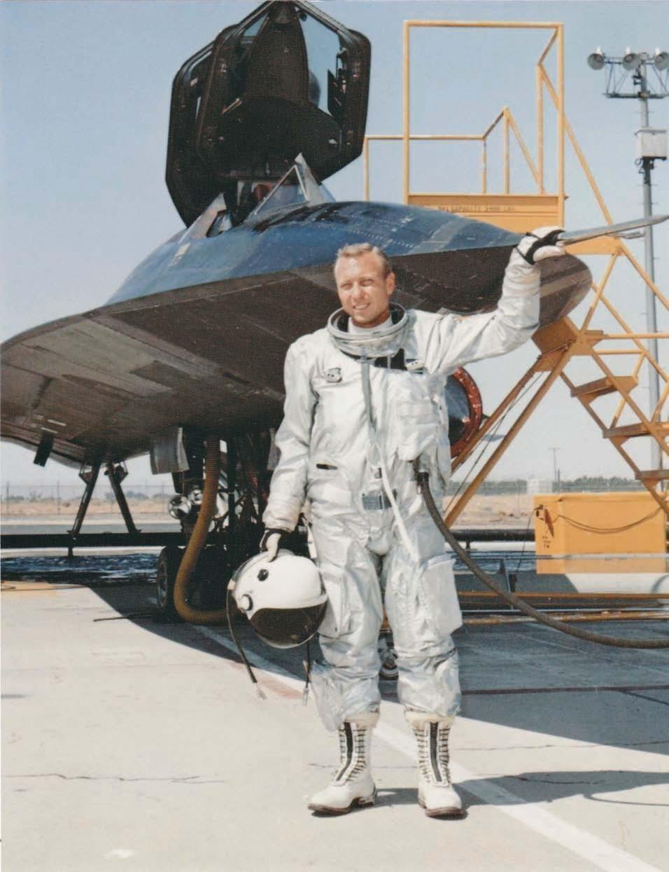 SR-71 pilot Bill Weaver