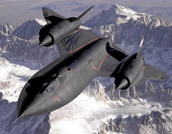 The Story of USAF SR-71 Blackbird inflight emergency while on a secret mission over the Golan Heights