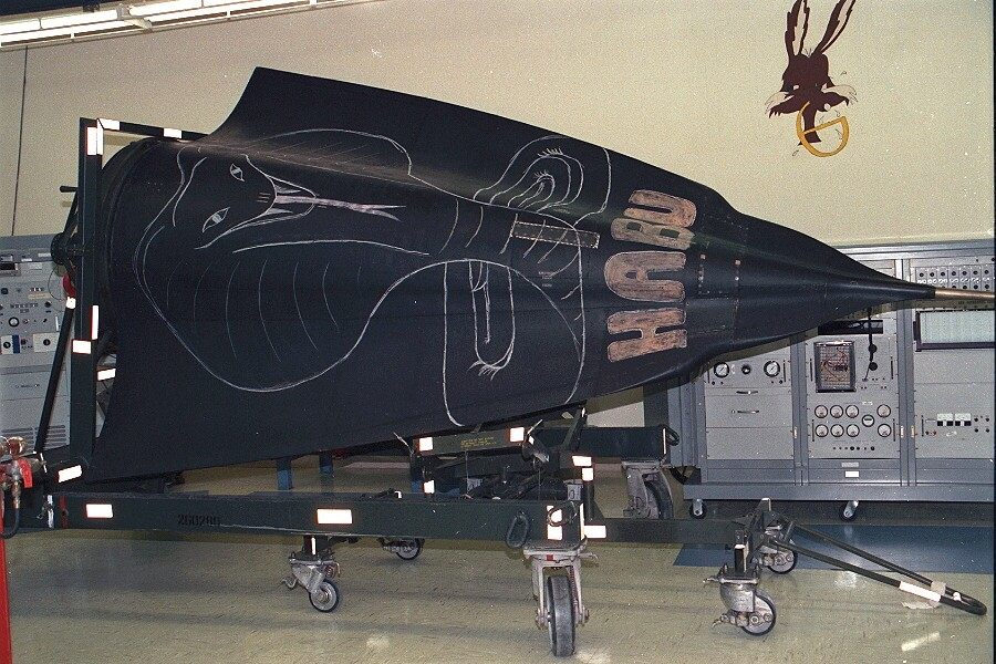 SR-71 Nose Section