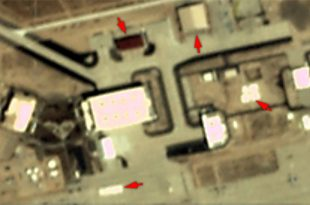 Satellite imagery shows new Hangars Constructed At Edwards Air Force Base