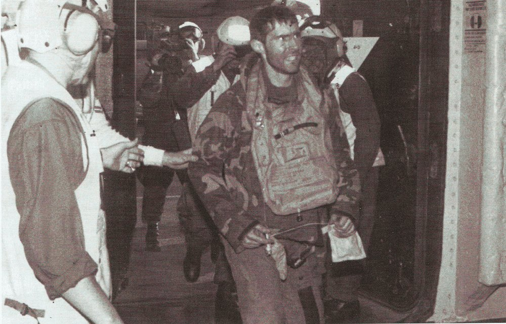 ScottOGrady was rescued by Marines after his jet was shot down by Bosnian