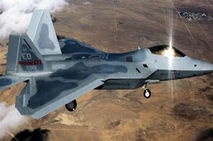 That time a U.S. Air Force F-22 Raptor stealth fighter jets lose radar-absorbing coating in Syria