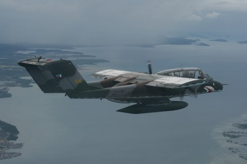 Philippine Air Force OV-10C Bronco plane