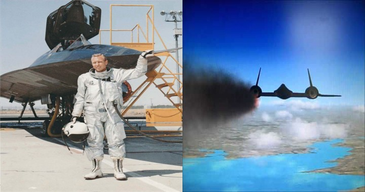 The story of a lucky SR-71 pilot who survived Blackbird disintegration at a speed of Mach 3.2