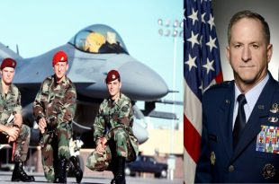 The story of the rescue of Current CSAF General David L. Goldfein after his F-16 was shot down 20 years ago