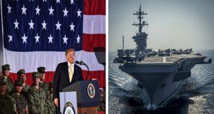 Trump criticizes U.S. Navy Aircraft carrier design as 'Wrong,' Will Order an Overhaul