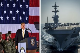 Trump criticizes U.S. Navy Aircraft carrier design as 'Wrong,' Will Order an Overhaul
