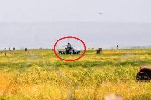 Turkish Air Force F-4E Fighter jet crash during landing at Malatya Erhaç Base