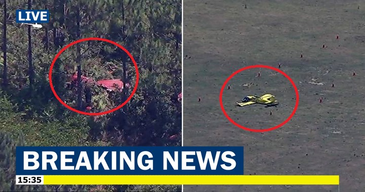 Two Vans RV-4 planes crashes after a mid-air collision in Green Cove Springs