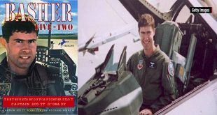 U.S. Air Force F-16 pilot who Survived six days behind enemy lines evading the Bosnian Serbs