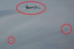 U.S. Air Force F-22 Raptor Intercepted Russian Tu-95 And Su-35 twice in two days