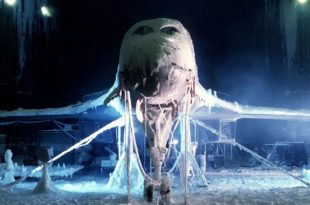 U.S. Air Force torture chamber can create ice storms and sandstorms to test the durability of aircraft